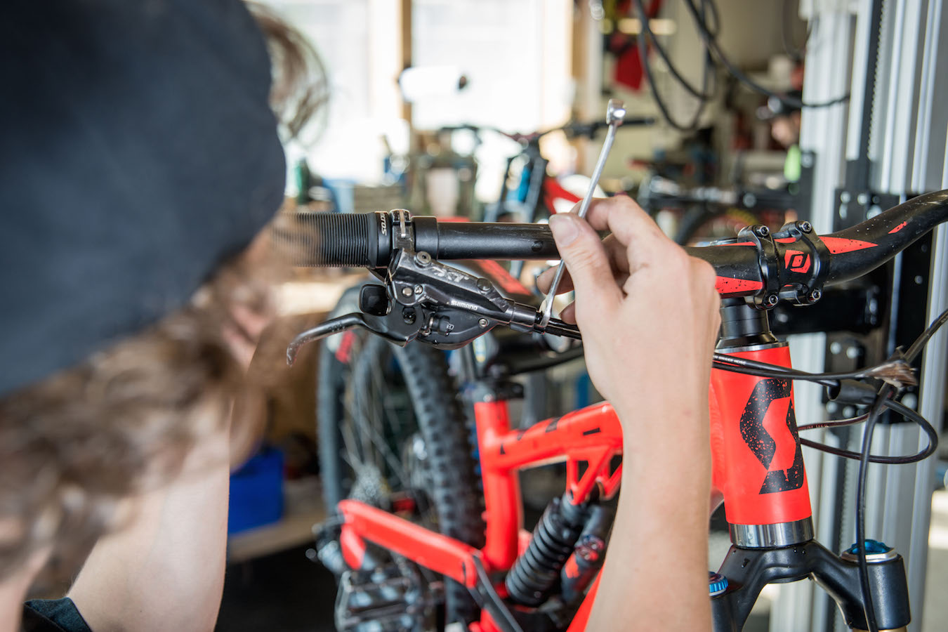 If you need bike service, come and see our experts at Sport Mitterer